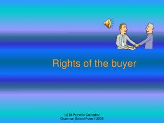 Rights of the buyer