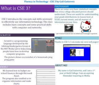 What is CSE 3?