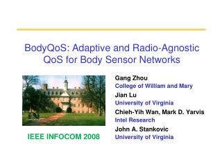 BodyQoS: Adaptive and Radio-Agnostic QoS for Body Sensor Networks