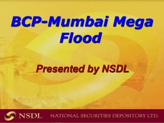 BCP-Mumbai Mega Flood