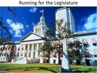 Running for the Legislature