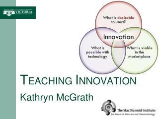 T EACHING  I NNOVATION Kathryn McGrath