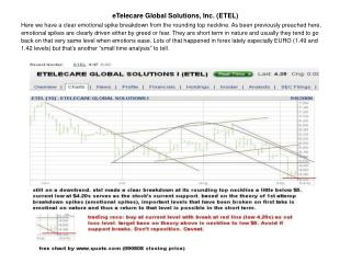 eTelecare Global Solutions, Inc. (ETEL)