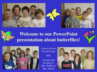Welcome to our PowerPoint presentation about butterflies!