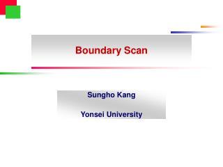 Boundary Scan