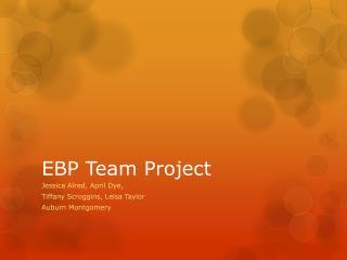EBP Team Project