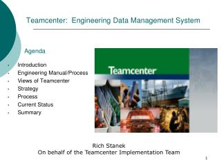 Teamcenter:  Engineering Data Management System