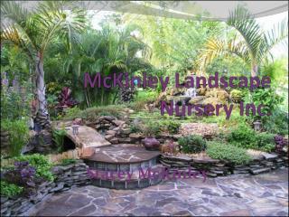 McKinley Landscape  Nursery Inc.
