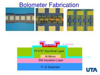Bolometer Fabrication