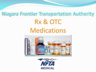 Niagara Frontier Transportation Authority Rx & OTC Medications
