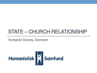 State � Church relationship