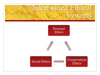 Intertwined Ethical Systems