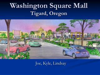 Washington Square Mall Tigard, Oregon