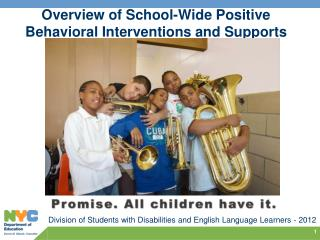 Overview of School-Wide Positive Behavioral Interventions and Supports (PBIS)