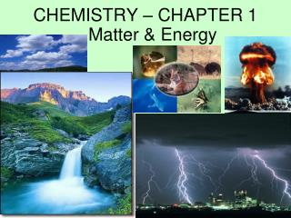 CHEMISTRY – CHAPTER 1