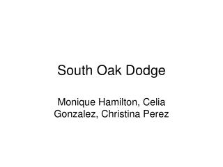 South Oak Dodge