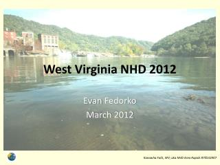 West Virginia NHD 2012
