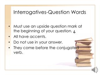 Interrogatives-Question Words