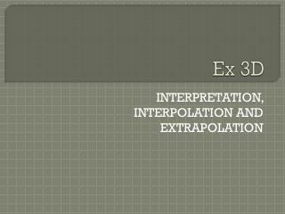 Ex 3D