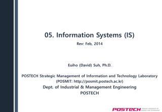 05. Information  Systems (IS)