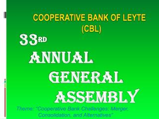 COOPERATIVE BANK OF LEYTE (CBL)