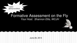 Formative Assessment on the Fly