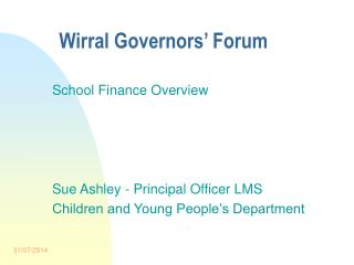 Wirral Governors' Forum