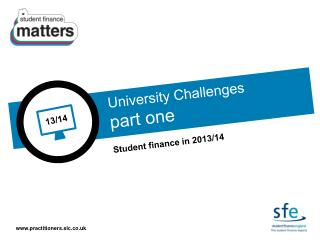 Student finance in 2013/14