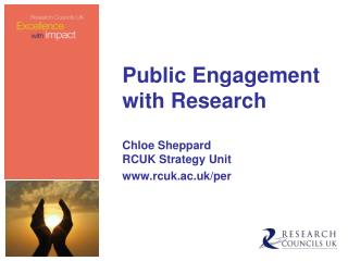Public Engagement with Research