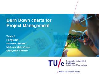 Burn  D own charts  for Project Management
