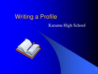 Writing a Profile
