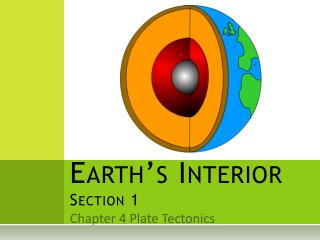 Earth's Interior Section 1
