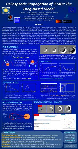 Heliospheric Propagation of ICMEs: The Drag-Based Model