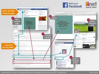 Facebook metadata