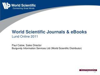 About World Scientific
