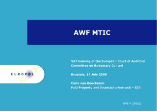 AWF MTIC