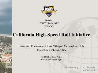 California High-Speed Rail Initiative