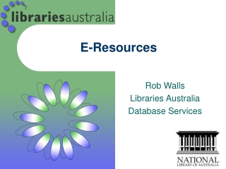 Electronic Resources Provision and Management