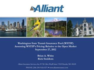 Washington State Transit Insurance Pool (WSTIP)