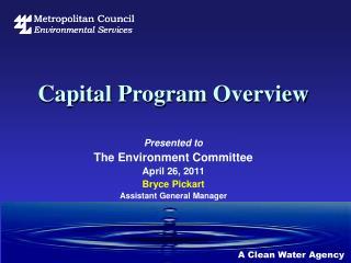 Capital  Program  Overview