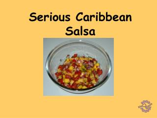 Serious Caribbean Salsa