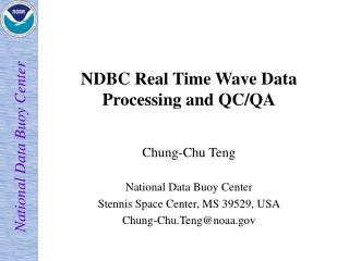 NDBC Real Time Wave Data  Processing and QC/QA
