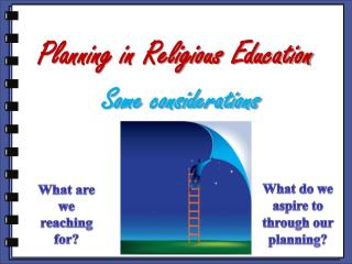 Planning in Religious Education