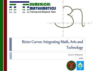 B�zier  Curves: Integrating Math, Arts and Technology