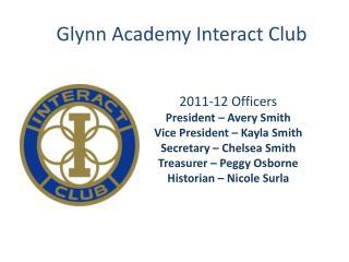 Glynn Academy Interact Club