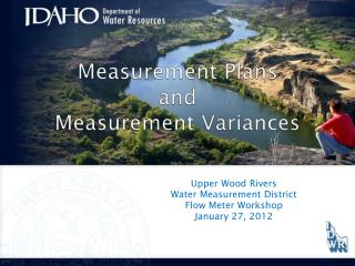 Measurement Plans and Measurement Variances