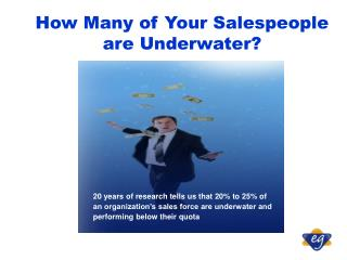 How Many of Your Salespeople are Underwater?