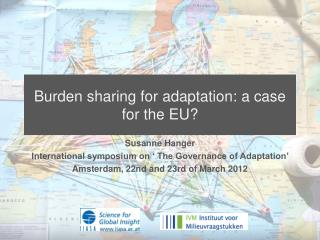 Burden sharing for adaptation: a case for the EU?