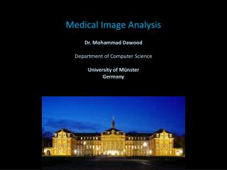 Medical Image Analysis