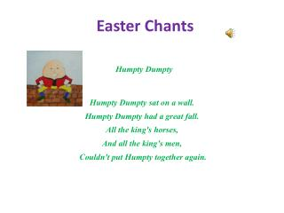 Easter Chants
